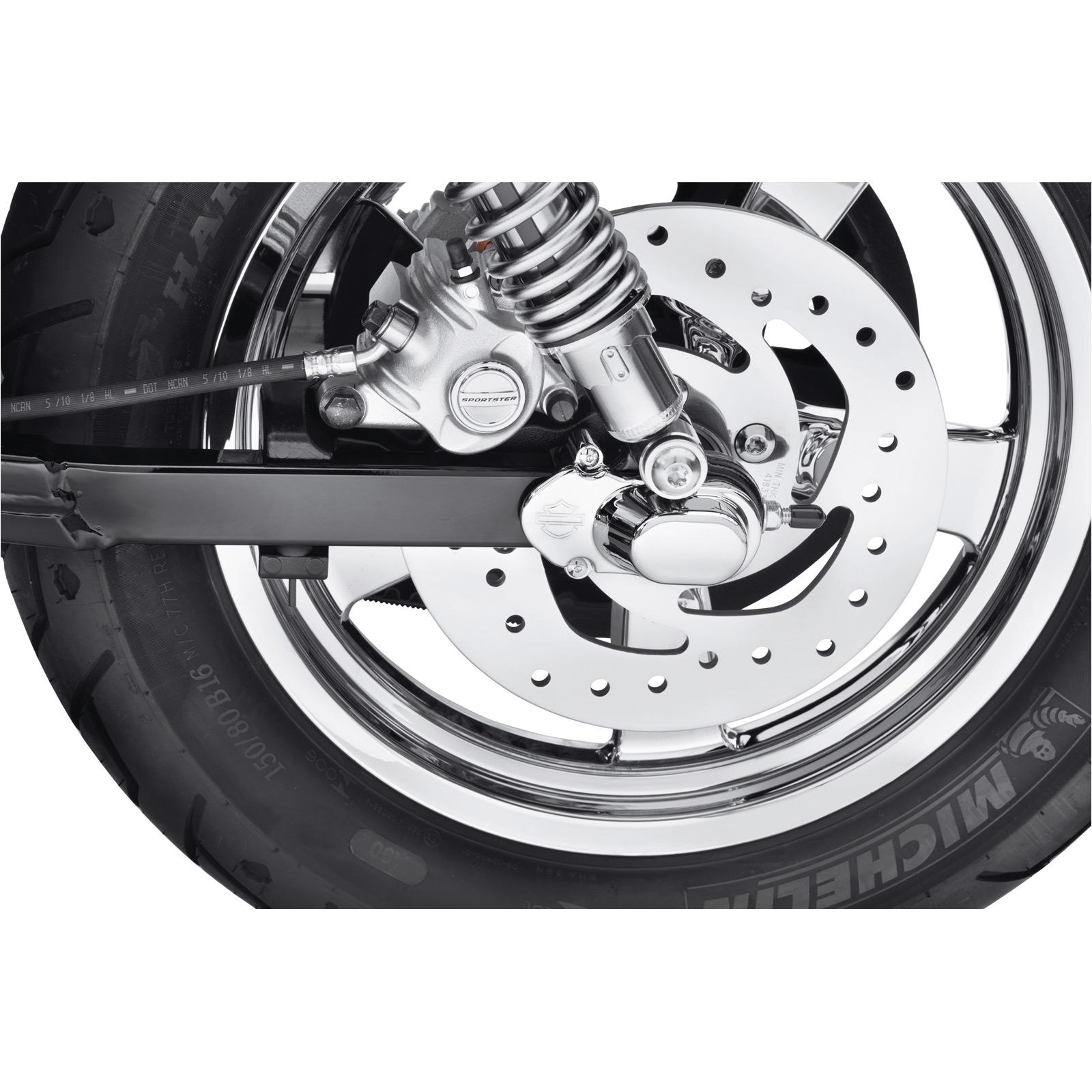 Harley Davidson Rear Axle Cover Kit Chromed Bar Amp Shield