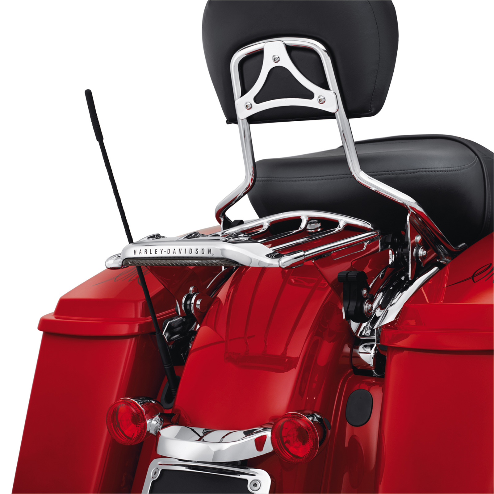 Harley davidson led bag lights : Harley davidson smoked led tail light fits air wing