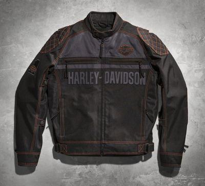 genuine harley davidson tailgater textile mesh jacket. Black Bedroom Furniture Sets. Home Design Ideas