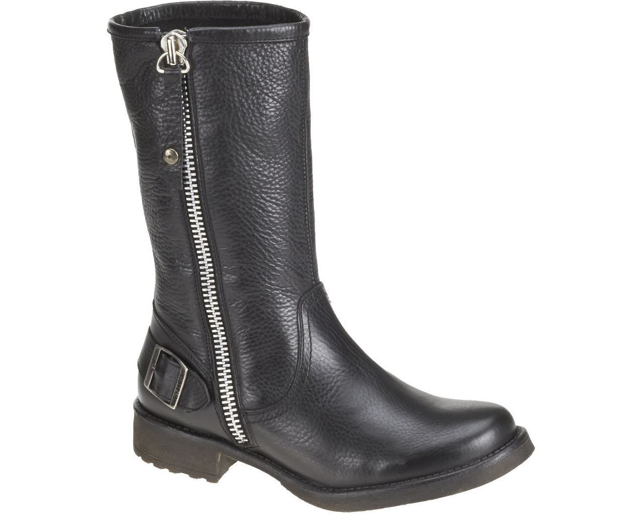 harley davidson baisley leather motorcycle boots