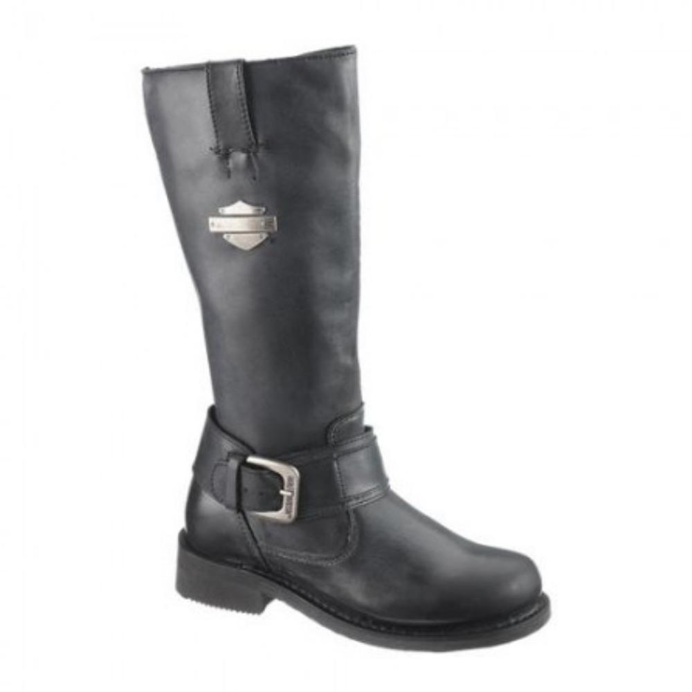genuine harley davidson belinda boots black womens