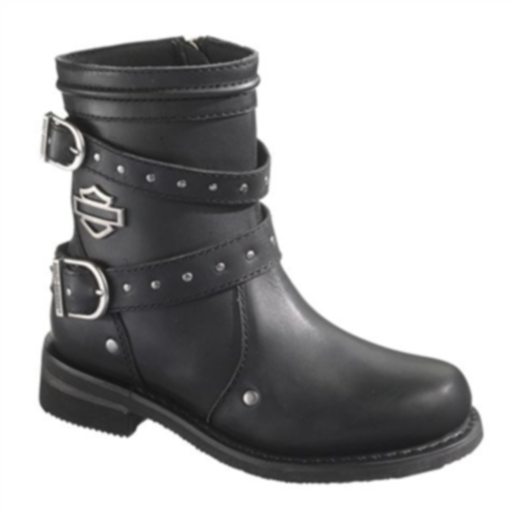 Genuine Harley Davidson Chryse Ladies Boots Black Womens