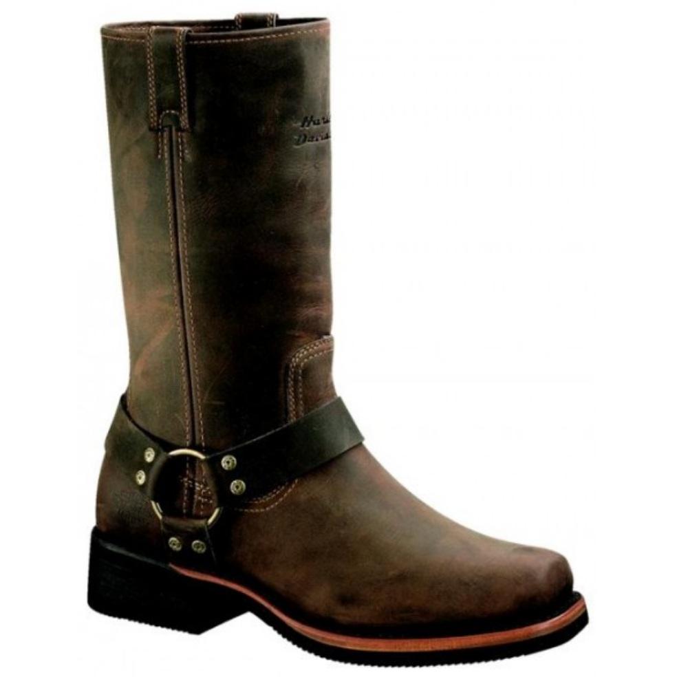 pair harley davidson hustin waterproof motorcycle boots