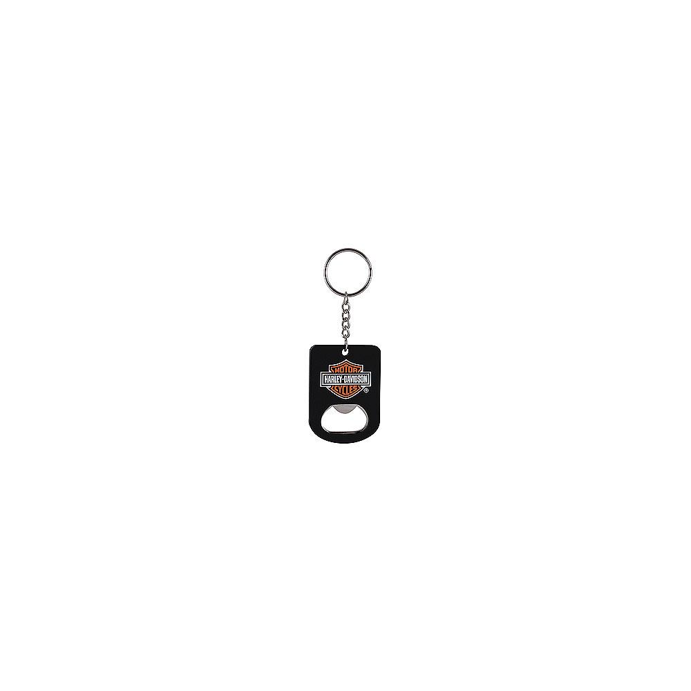 genuine harley davidson keyring bottle opener bar shield. Black Bedroom Furniture Sets. Home Design Ideas
